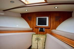 Custom-Middleton-Sports-Fisherman-2008-Chasing-Tail-Dania-Florida-United-States-Fore-Cabin-with-Hatch-to-Bow-913231