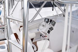 Custom-Middleton-Sports-Fisherman-2008-Chasing-Tail-Dania-Florida-United-States-Helm-from-Starboard-Side-Rail-913254