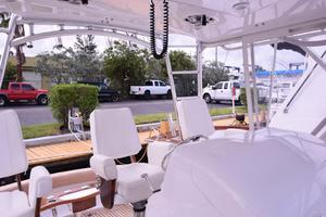 Custom-Middleton-Sports-Fisherman-2008-Chasing-Tail-Dania-Florida-United-States-Helm-View-to-Cockpit-913250