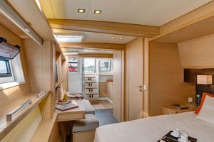 62' Lagoon 620 2015 Manufacturer Provided Image: Lagoon 620 Cabin