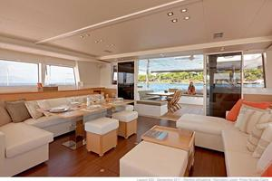 62' Lagoon 620 2015 Manufacturer Provided Image: Lagoon 620 Saloon