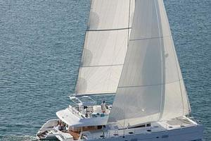 62' Lagoon 620 2015 Manufacturer Provided Image: Lagoon 620 Sailing