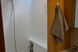40' Lagoon 400 S2 2018 Large Separate Shower w/Good Natural Light