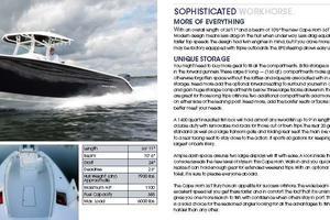 36' Cape Horn 36OS 2016 Brochure
