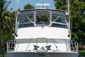 54' Hatteras Convertible 1995 Bow Profile