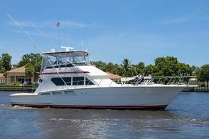 54' Hatteras Convertible 1995 Profile