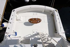 54' Hatteras Convertible 1995 Aerial Cockpit View
