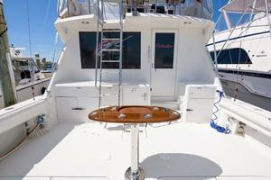 54' Hatteras Convertible 1995 Cockpit with NEW Rocket Launcher (2015)