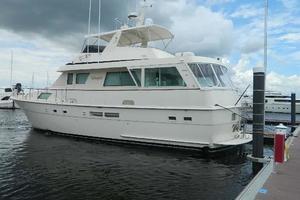 60' Hatteras Motor Yacht 1989 Profile