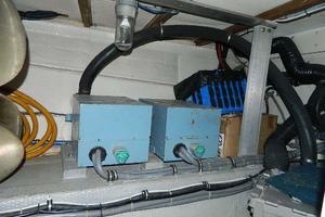 60' Hatteras Motor Yacht 1989 Generator Room