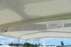 60' Hatteras Motor Yacht 1989 Flybridge Bimini