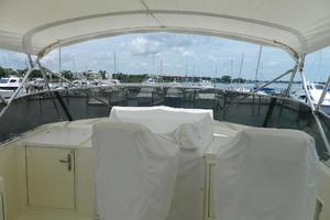 60' Hatteras Motor Yacht 1989 Flybridge Helmseat Covers