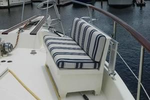 photo of Hatteras-Motor-Yacht-1989-Windfall-Stuart-Florida-United-States-Foredeck-Seating-Stbd-910365