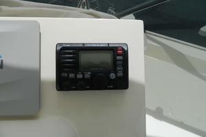 60' Hatteras Motor Yacht 1989 Upper Helm VHF