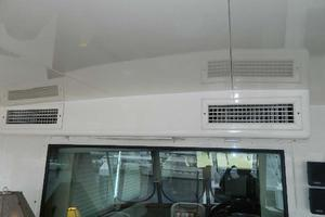 60' Hatteras Motor Yacht 1989 Aft Deck AC