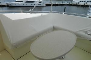 60' Hatteras Motor Yacht 1989 Flybridge Seating Covers