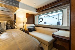 70' Ocean Alexander Evolution 2017 Chaise in master stateroom