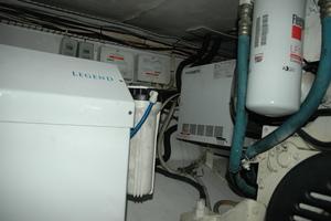 45' Gillikin Custom Carolina 45 Express 2009 Engine Room