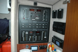 45' Gillikin Custom Carolina 45 Express 2009 Breaker Panel