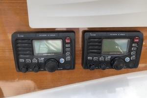 45' Gillikin Custom Carolina 45 Express 2009 Twin Icom M504 VHF's at Helm