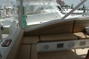 45' Gillikin Custom Carolina 45 Express 2009 Helm Deck Wraparound Seating
