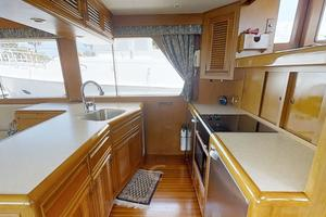 55' Offshore Yachts Pilothouse 1995 Galley 2