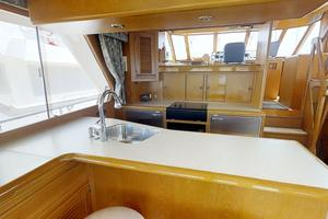 55' Offshore Yachts Pilothouse 1995 Galley