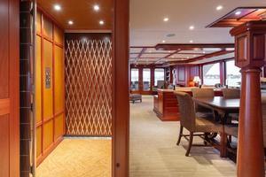 127' Burger 2003/2017 127ft Motor Yacht 2003 Elevator
