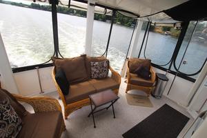 40' Carver 405 Aft Cabin 1998 Aft Deck
