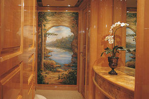 124' Christensen Raised Pilothouse My 1999 Lower Foyer