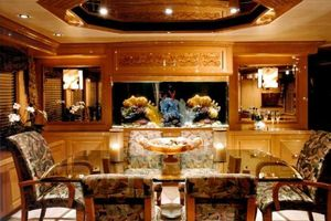 124' Christensen Raised Pilothouse My 1999 Dining Area