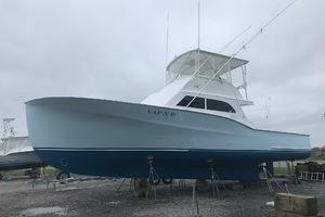 "46' Jarvis Newman 46 Custom Carolina Charter 1988 46' Jarvis Newman ""Cap'n B"", port beam"
