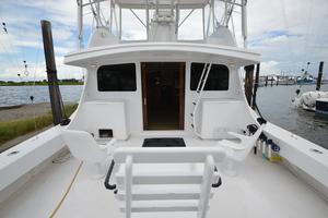 """46' Jarvis Newman 46 Custom Carolina Charter 1988 46' Jarvis Newman """"Cap'n B"""", looking forward"""