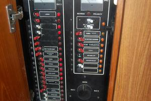 "46' Jarvis Newman 46 Custom Carolina Charter 1988 46' Jarvis Newman ""Cap'n B"", AC/DC breaker panel"