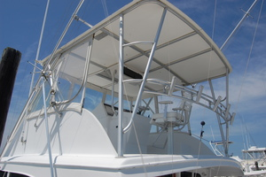 "46' Jarvis Newman 46 Custom Carolina Charter 1988 46' Jarvis Newman ""Cap'n B"", flying bridge"