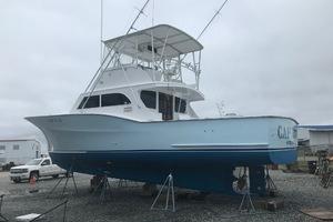 "46' Jarvis Newman 46 Custom Carolina Charter 1988 46' Jarvis Newman ""Cap'n B"", port quarter, Fresh bottom paint and hull polish 8/1/18"