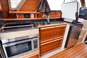 28' Cutwater C-28 2018 Port Side Galley