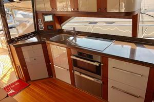 54' Riviera Belize 54 Daybridge 2015 Riviera Belize 54 Daybridge Galley
