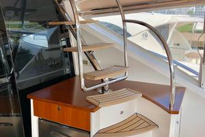 54' Riviera Belize 54 Daybridge 2015 Riviera Belize 54 Daybridge Flybridge Stairs