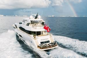 95' Sunseeker 95 Yacht 2017 Deep V hull provides comfortable cruising in all conditions