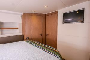 51' Beneteau 49 GT 2015 Forward Stateroom Entertainment