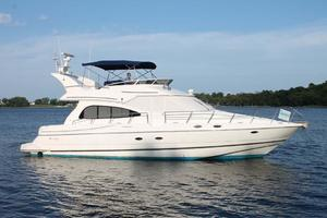50' Cruisers Yachts 5000 Sedan 2000 Starboard Profile