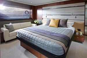 74' Princess S72 2015 Manufacturer Provided Image: Princess S72 Owner's Stateroom