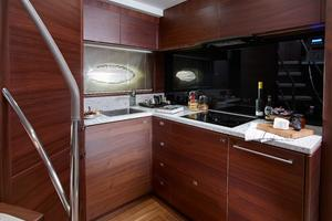 74' Princess S72 2015 Manufacturer Provided Image: Princess S72 Galley