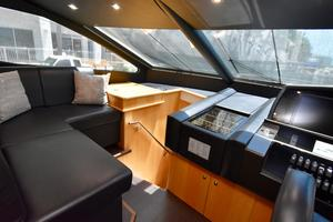 88' Sunseeker 88 Yacht 2012 Helm Area Seating