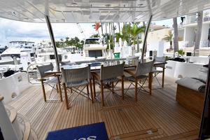 88' Sunseeker 88 Yacht 2012 Aft Deck