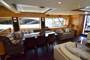 88' Sunseeker 88 Yacht 2012 Dining Area