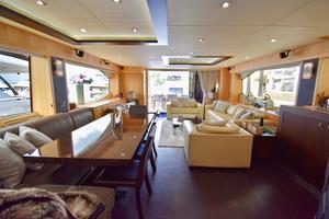 88' Sunseeker 88 Yacht 2012 Main Salon