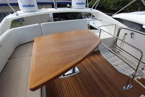 50' Prestige 500 Flybridge 2014 Bridge Table / Seating