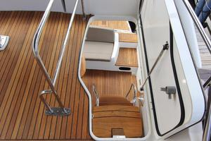 50' Prestige 500 Flybridge 2014 Teak Bridge and Cockpit